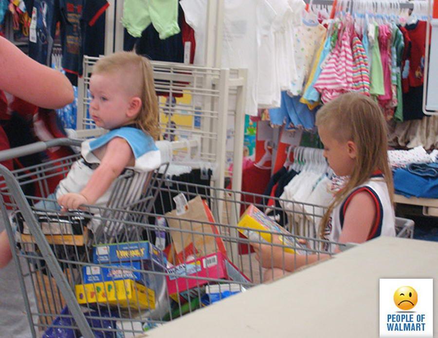 Прикольные и странные покупатели из Walmart - 34 (40 фото)