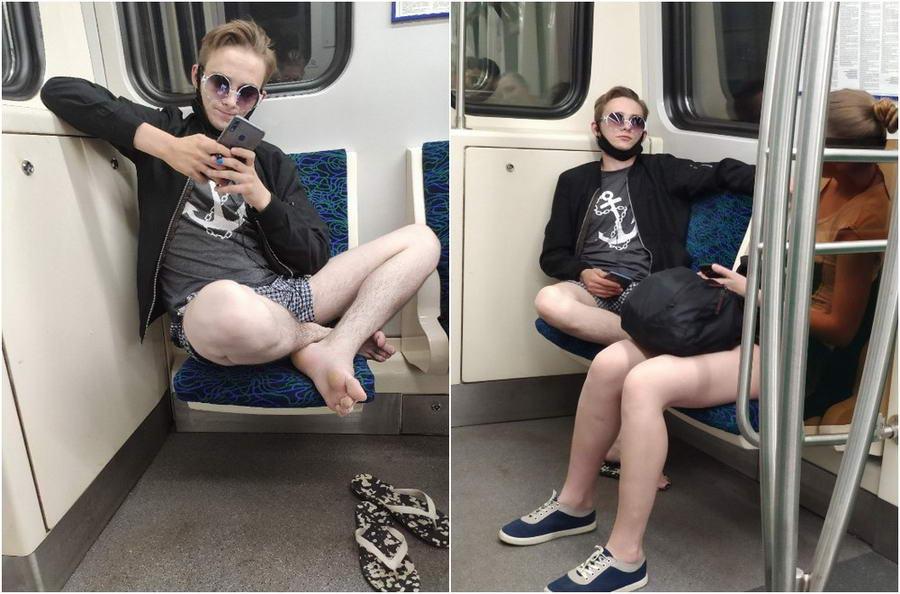 Странные персонажи из российского метрополитена - 151 (40 фото)