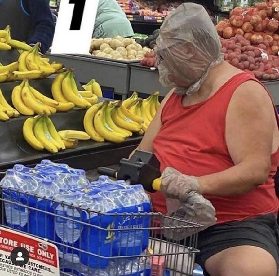 Прикольные и странные покупатели из Walmart - 35 (40 фото)
