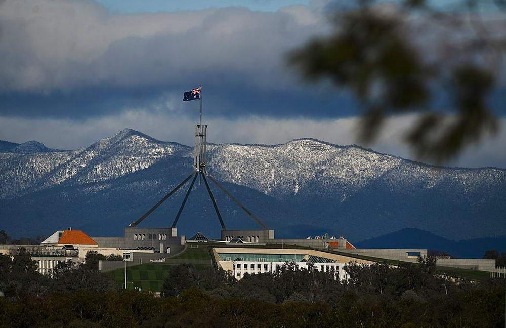 Такое бывает раз в 15 лет: в Австралии выпало около 20 см снега (30 фото)