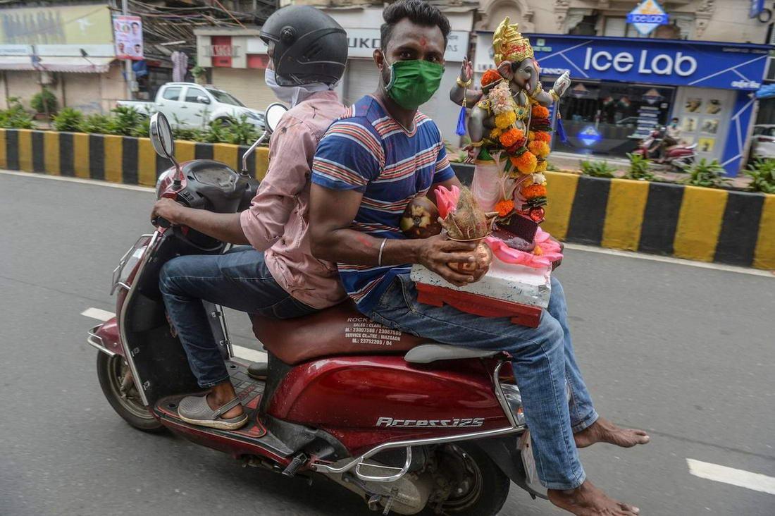 Праздник Ганеши Чатуртхи в Индии