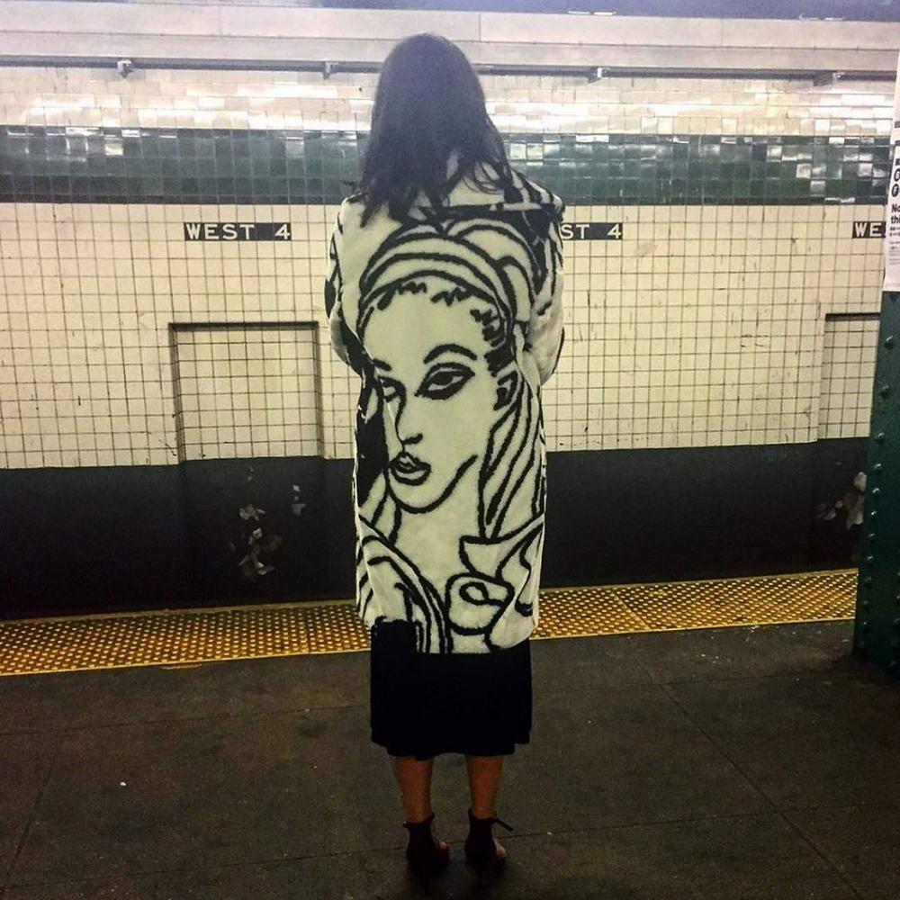 Модные персонажи на улицах Нью-Йорка - 4 (35 фото)