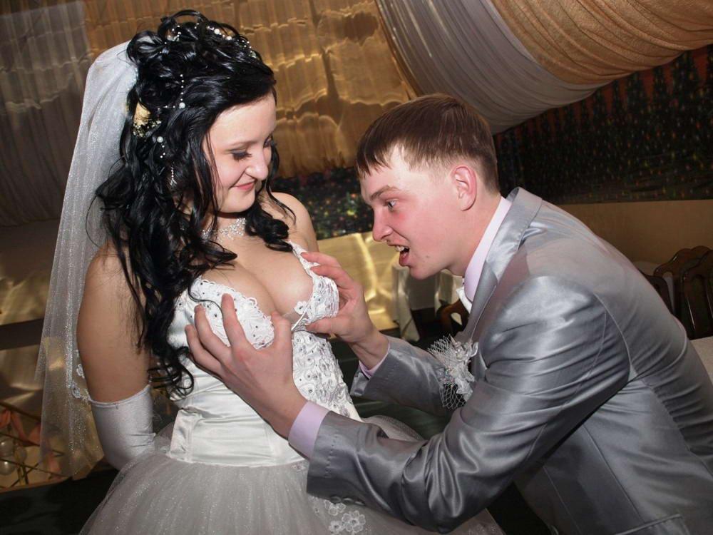 Забавные свадебные фото - 9 (40 фото)