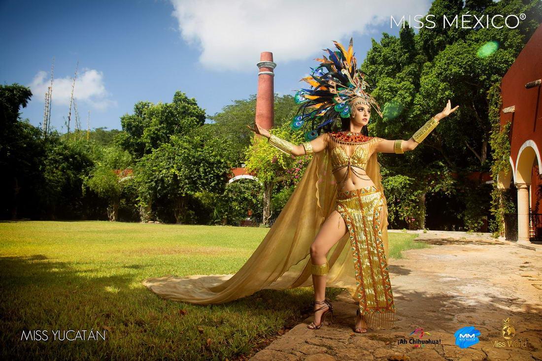 Участницы конкурса \Мисс Мексика\ в экстравагантных нарядах (30 фото)