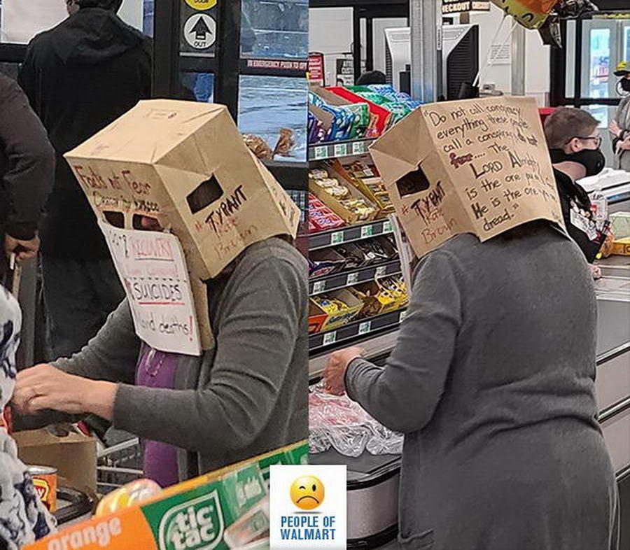 Прикольные и странные покупатели из Walmart - 36 (40 фото)