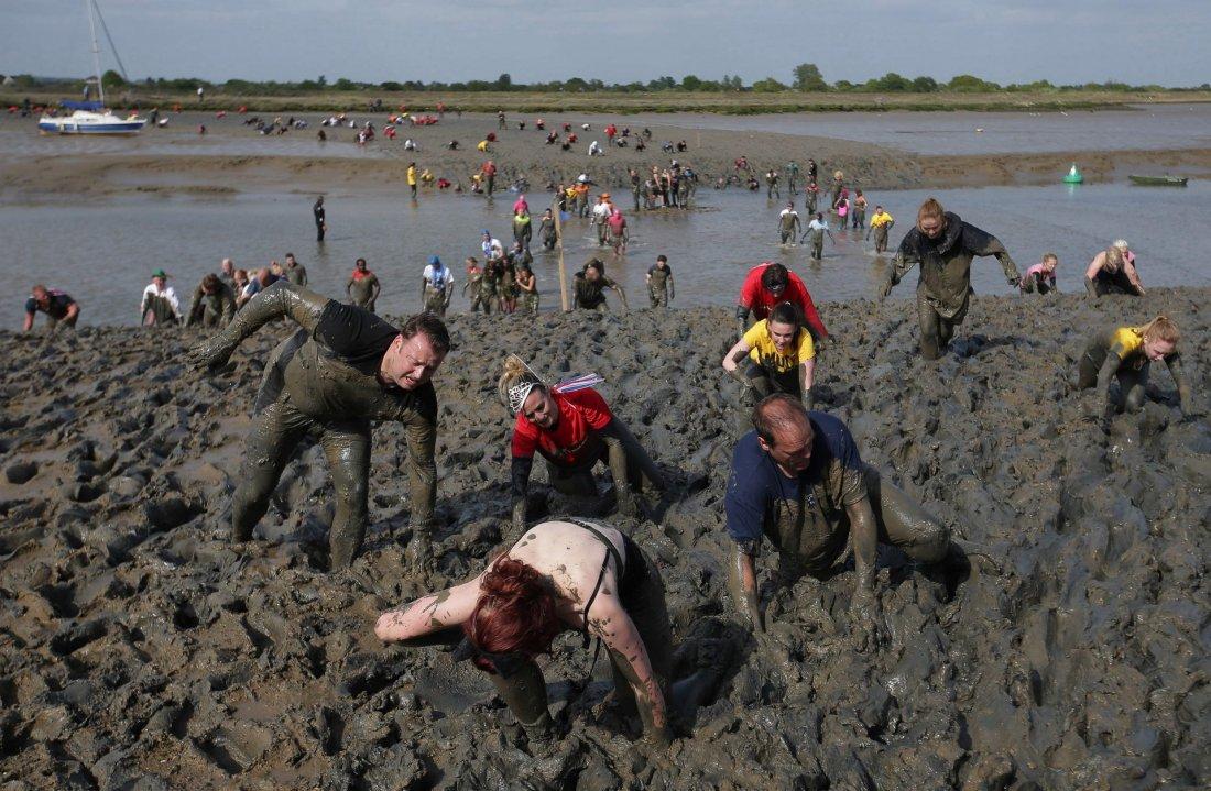 Малдонская грязевая гонка 2017: в картинках (10 фото)