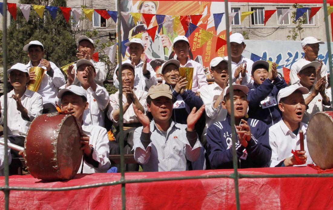 Повседневная жизнь в фото: Пхеньян (65 фото)
