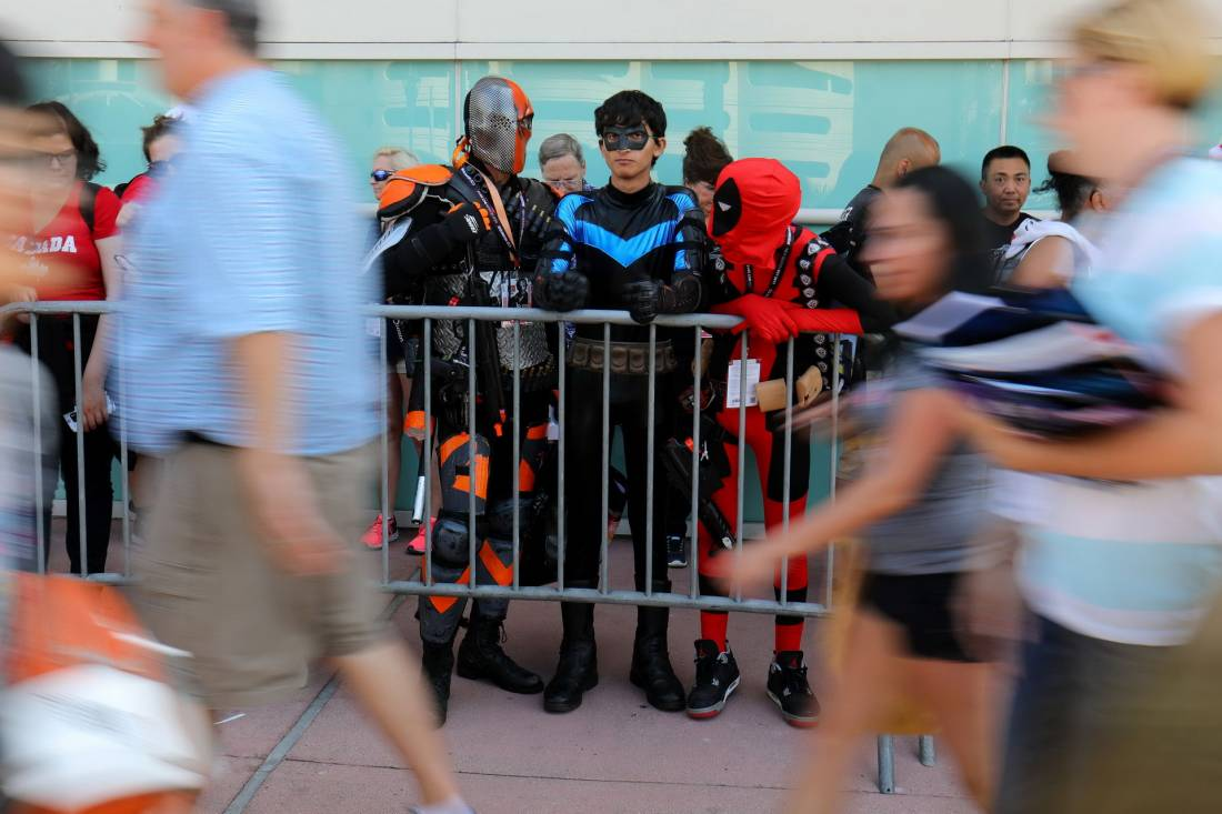 San Diego Comic-Con 2017 (20 фото)