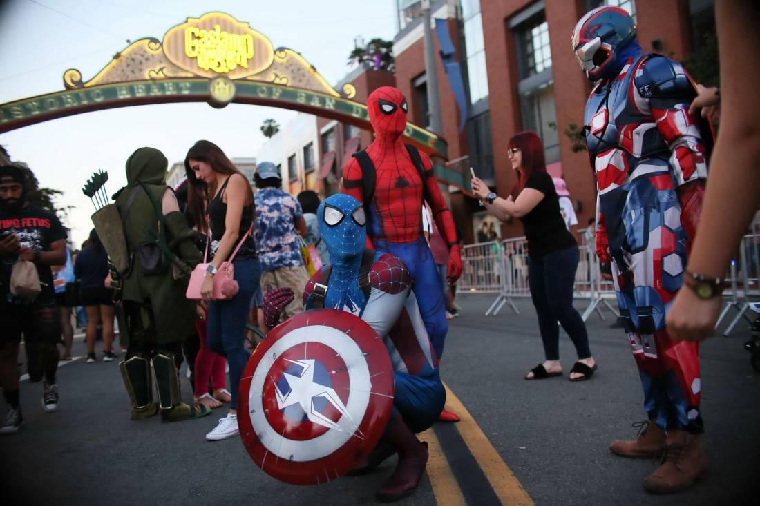 San Diego Comic-Con 2017 - 2 (20 фото)