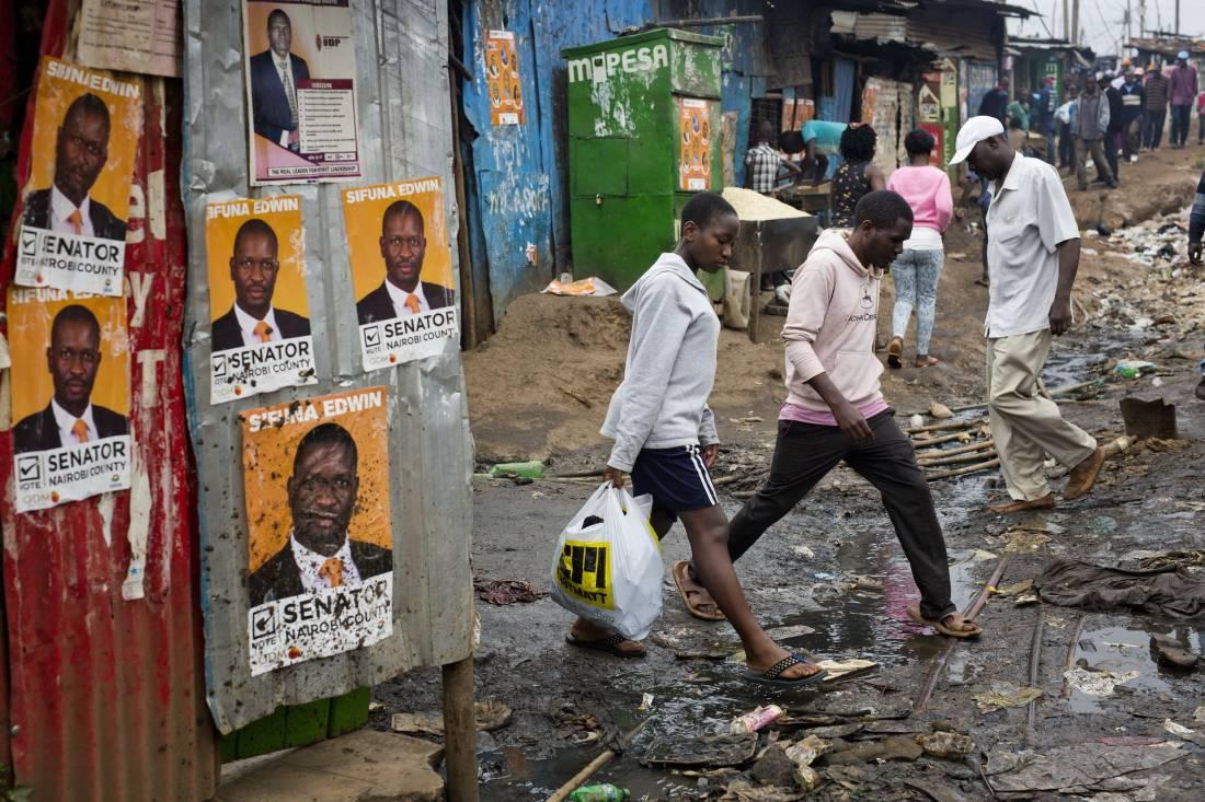 Повседневная жизнь в фото: Кения (23 фото)