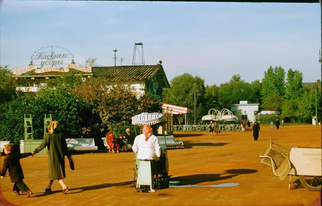 Москва пятидесятых на снимках Жака Дюпакье (75 фото)