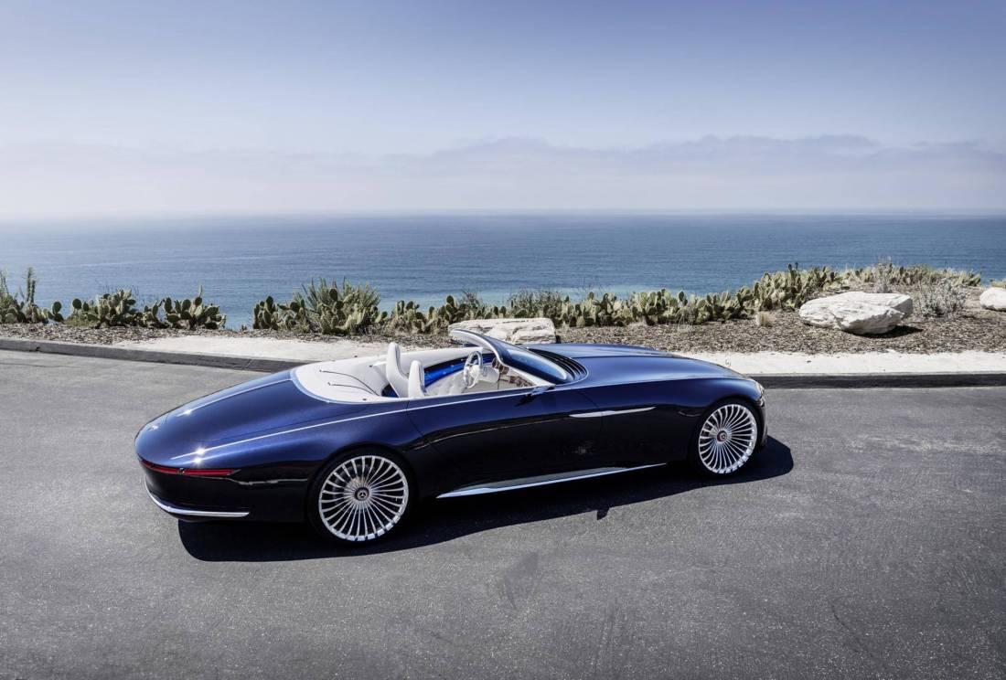 Mercedes-Maybach 6 Cabriolet - идеальная концепция! (24 фото)