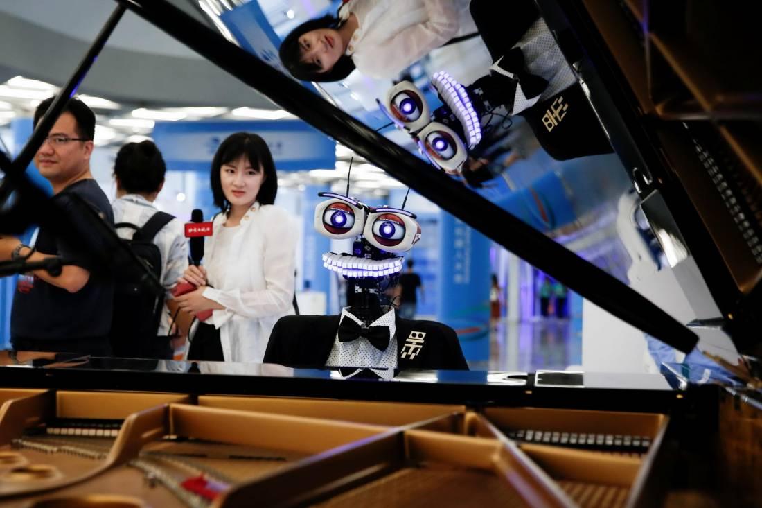 Всемирная конференция роботов в Пекине (25 фото)
