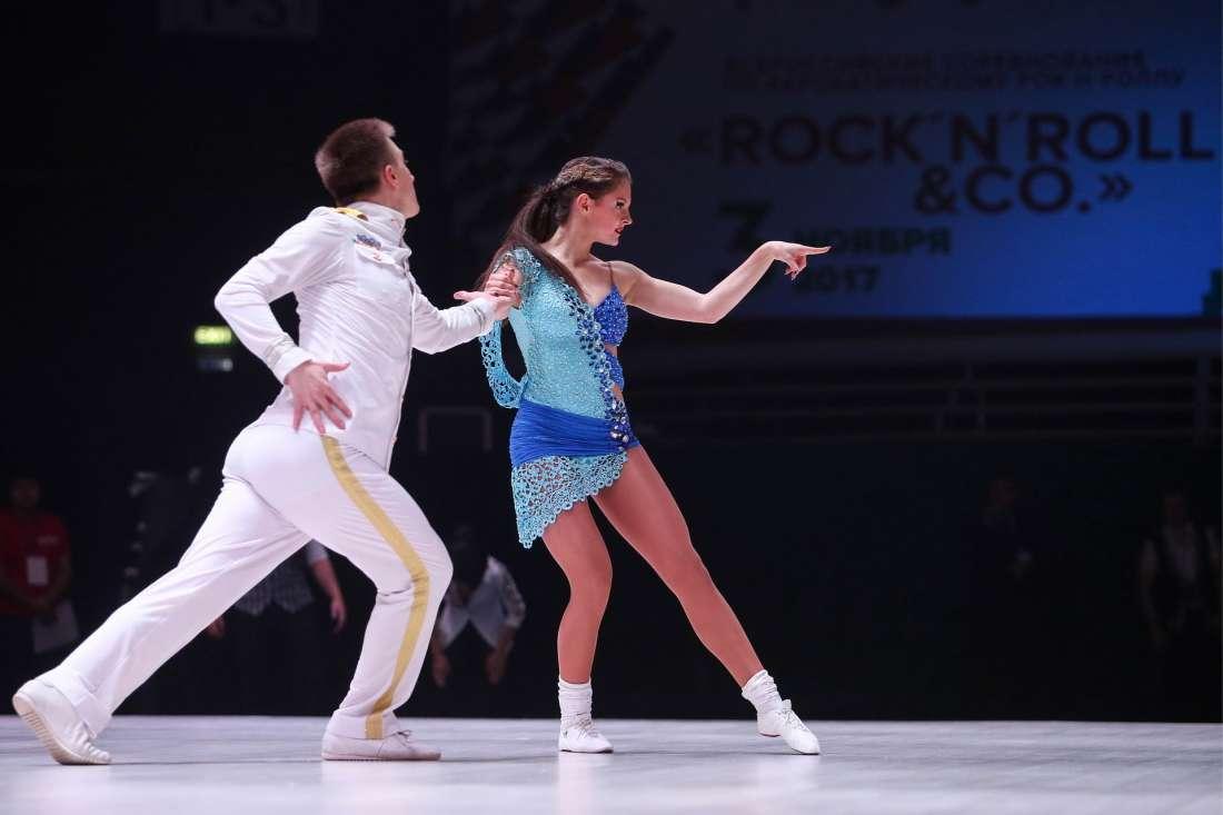 Кубок России по акробатическому рок-н-роллу 2017
