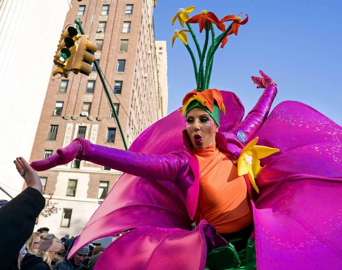 Парад Мэйси на День благодарения 2017 в Нью-Йорке (30 фото)