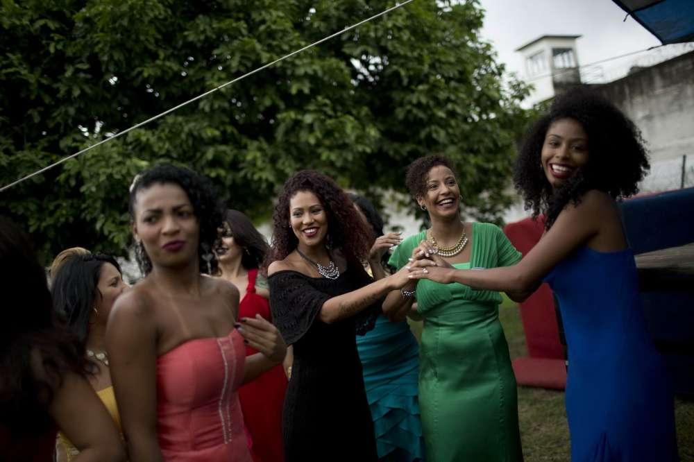 Конкурс красоты в Бразильской женской тюрьме (20 фото)
