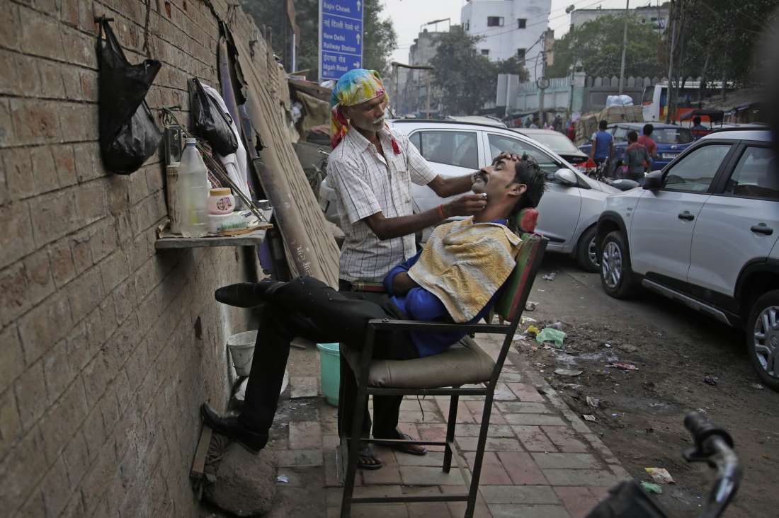 Повседневная жизнь в фото: Индия (22 фото)