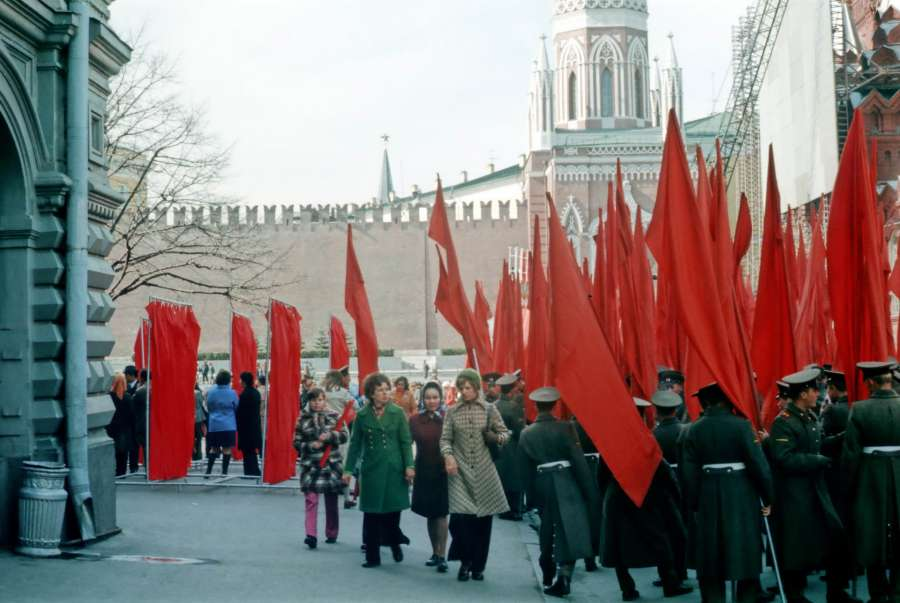 Москва 1976 года на снимках Роджера Липсетта (90 фото)