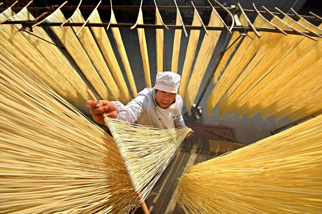 Повседневная жизнь в фото: Китай (25 фото)